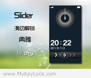 【Slider】MyKeyLock滑动解锁主题包下载2