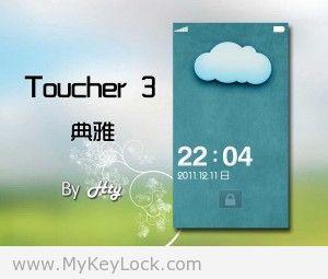 【Toucher 3】-MyKeyLock滑动解锁主题包下载1