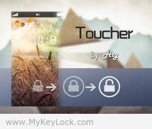 【Toucher】点按解锁-MyKeyLock滑动解锁主题包下载1