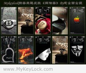 《简洁美》mykeylock主题包下载