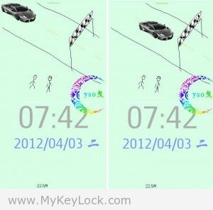 【冲刺】-MyKeyLock滑动解锁主题包下载
