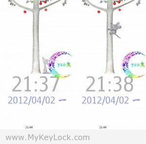 【鼠小弟】-MyKeyLock滑动解锁主题包下载